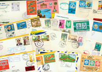 Lufthansa 42 first flight envelopes