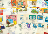 Lufthansa 41 first flight envelopes