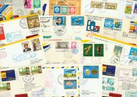 Lufthansa 30 first flight envelopes