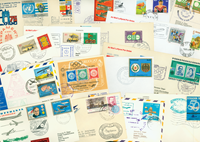 Lufthansa 23 first flight envelopes