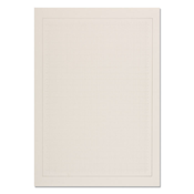 Blank album pages A4 - Grey bg with grey border - Pack of 40 - Lighthouse