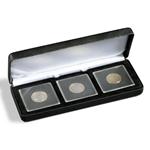 Nobile munten etuis voor 3x Quadrum capsules