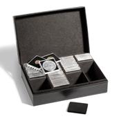 Coin Case for 100 QUADRUM coin capsules, black