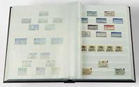 Säiliökirja - A5 - Sileät kannet - 16 valkoista lehteä - pergamiiniliuskat - musta