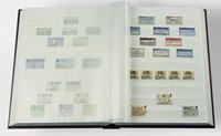 Insteekboek - Rood - A4 - 64 witte bladzijden - met tussenstrook - ongewatteerde band