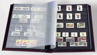 Indstiksbog - Sort - str. A4 - 16 sorte sider - Ikke-polstret indbinding