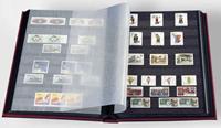 Classeur Leuchtturm BASIC - Rouge - A4 - 16 pages noires - couverture non ouatinée