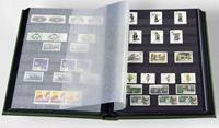 Indstiksbog - Grøn - str. A4 - 16 sorte sider - Ikke-polstret indbinding