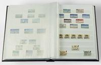 Insteekboek - Blauw - A4 - 32 witte bladzijden - ongewatteerde band