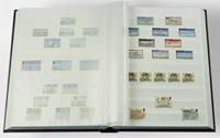 Insteekboek - Blauw - A4 - 16 witte bladzijden - ongewatteerde band
