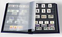 Insteekboek - Blauw -A4 - 32 zwarte bladzijden - ongewatteerde band