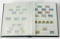 Insteekboek - Blauw - A5 - 16 witte bladzijden - ongewatteerde band