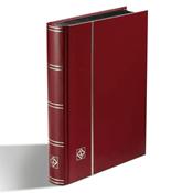 Insteekboek - Rood - A5 - 32 zwarte bladzijden - ongewatteerde band