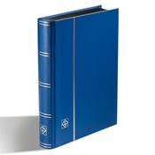 Classeur Leuchtturm BASIC - Bleu - A5 - 32 pages noires - couverture non ouatinée