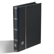 Indstiksbog - Sort - str. A5 - 32 sorte sider - Ikke-polstret indbinding