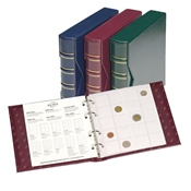 NUMIS Classic coin album with slipcase - Green - Lighthouse / Leuchtturm