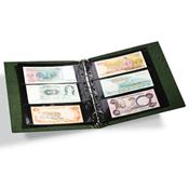 Album billets de banque VARIO Classic, 10 Pochettes incluses, vert