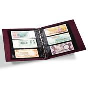 Album billets de banque VARIO Classic, 10 Pochettes incluses, rouge