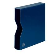 Etui de protection pour Reliure á anneaux OPTIMA, design classique, bleu
