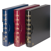 Ringbinder MAXIMUM, in classic design incl. slipcase, red