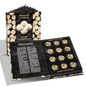 VISTA møntbog til franske *Médailles Souvenirs*