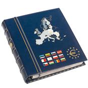 VISTA Euro møntalbum, Bind 2, inkl. kassette