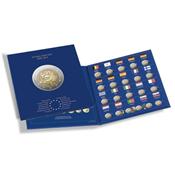 Møntalbum PRESSO til 2-Euro mønter *10 Jahre Euro-Bargeld*
