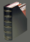 CLASSIC Magazine File, A4,outer size: 290 x 325 x 90 mm, inner size: 285 x 315 x 95 mm