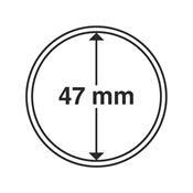 Kolikkokapseleita - Sisähalkaisija 47mm - Ulkohalkaisija 53mm - 10 Kpl
