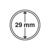 Kolikkokapseleita - Sisähalkaisija 29mm - Ulkohalkaisija 35mm - 10 Kpl