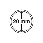 capsules pour pièces de monnaie diamètre intérieur  20 mm