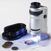 Zoom Microscope with LED from Lighthouse / Leuchtturm