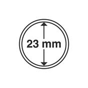 Kolikkokapseleita - Sisähalkaisija 23mm - Ulkohalkaisija 29mm - 10 Kpl