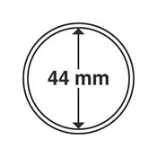 capsules pour pièces de monnaie diamètre intérieur  44 mm