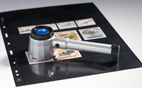 Overlay Magnifier with 8x magnification, incl.3 LED