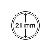 Kolikkokapseleita - Sisähalkaisija 21mm - Ulkohalkaisija 27mm - 10 Kpl