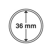 capsules pour pièces de monnaie diamètre intérieur  36 mm