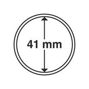 Kolikkokapseleita - Sisähalkaisija 41mm - Ulkohalkaisija 47mm - 10 Kpl