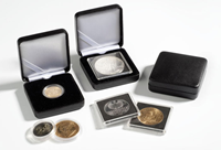 Metalen munten etui NOBILE voor 46 mm munt capsules