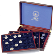 Møntkassette 2-euro erindringsmønter *Deutsche Bundesländer* i kapsler