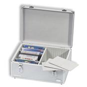 Aluminium XL møntkuffert til møntsæt