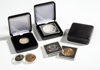 Metalen munten etui NOBILE voor 26 mm munt capsules
