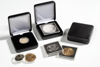 Metalen munten etui NOBILE voor 30 mm munt capsules