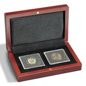 Mønt-etuier Volterra til 2 Quadrum-møntkapsler