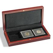 Mønt-etuier Volterra til 3 Quadrum-møntkapsler