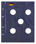 Møntblade 10 DM erindringsmønt