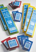 SF-klemstroken - 41 x 24 - glas helder - blauwe verpakking - 50 stuk