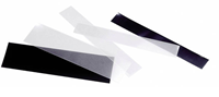 SF-Bandes 265x 80 mm double soudure, fond noir - 10 pcs
