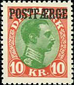 Denmark postal ferry 1930 AF no. 14 mint