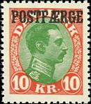 Danmark 1930 - AFA nr.14 - Postfærge - Postfrisk